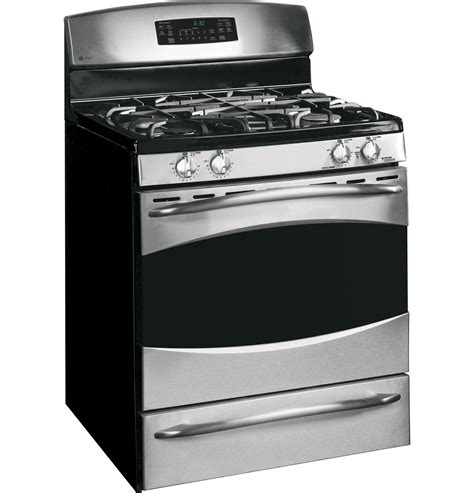 ge profile  standing  clean gas range pgbsemss ge appliances