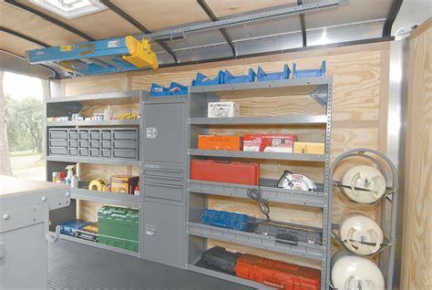 cargo trailer shelving ideas  adrian steel