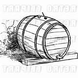 Barrel Whiskey Outline Vector Clipart Createmepink Icons sketch template