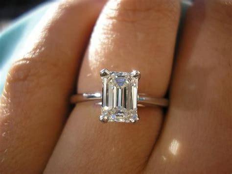 242 best images about emerald cut diamonds on pinterest