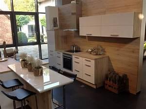Doppelblock Küche Günstig : q05 inselk che mit theke fronten in premiumwei eiche ~ Markanthonyermac.com Haus und Dekorationen