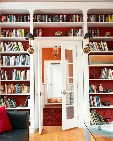 how to paint back of bookcase 20 bookshelf decorating ideas