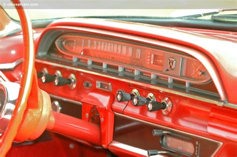 ford galaxie starliner dashboard mid century