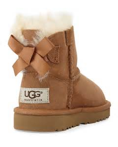 UGG Boots with Bows in Back