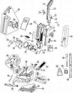 Hoover Uh30600 Windtunnel Vacuum Parts