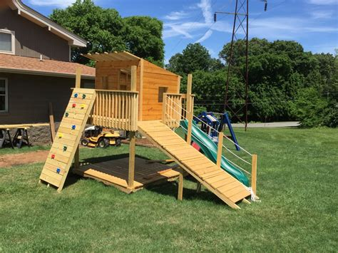 ana white play fort  swing set diy projects