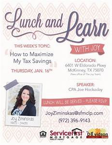 marketing flyer for mortgage company lunch and learn on With free mortgage flyer templates