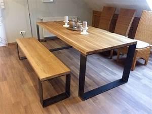 Eiche Massiv Tisch : best 20 tisch eiche massiv ideas on pinterest esszimmertisch massiv esstisch aus massivholz ~ Eleganceandgraceweddings.com Haus und Dekorationen