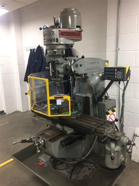 sold bridgeport turret milling machine adcockl