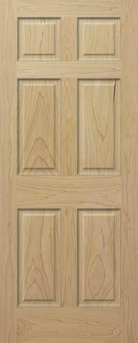 Wood 6 Panel Interior Doors by Poplar 6 Panel Wood Interior Doors Homestead Doors