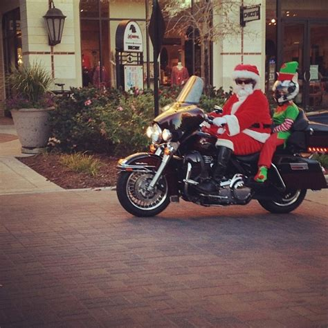 santa on motorcycle motorcycle santa pinterest