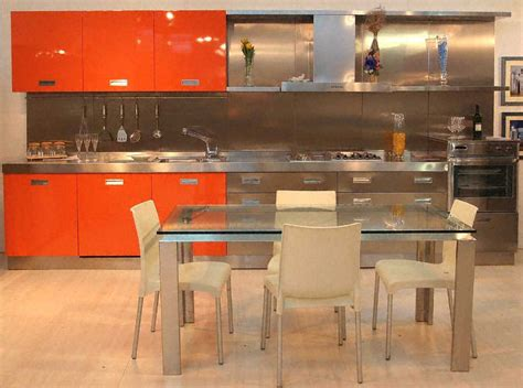 cuisine plan de travail inox cuisine plan de travail de cuisine moderne en inox