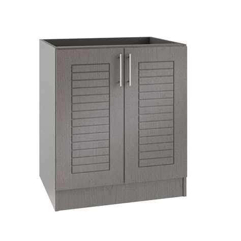 outdoor kitchen cabinets home depot hton bay princeton shaker assembled 36x34 5x24 in sink 7232