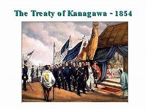 Image result for Treaty of Kanagawa with Japan.