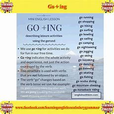 "Click On Collocations With ""go"""
