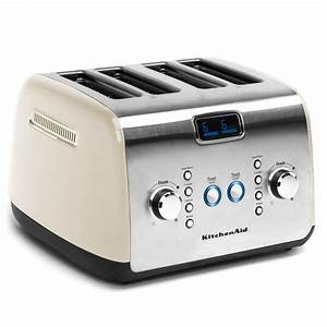 Kitchen Aid Toaster : kitchenaid kmt423 4 slice almond cream toaster peter 39 s of kensington ~ Yasmunasinghe.com Haus und Dekorationen