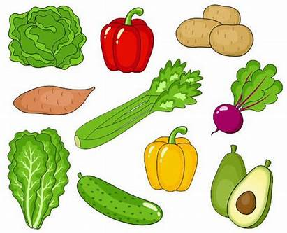 Vegetables Clip Clipart Veggies Clips Digital