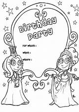 Birthday Coloring Happy Printable Forever Friends Forkids Happily Memories Gifts Follow Play sketch template