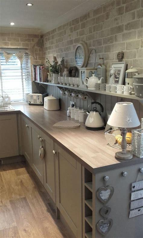 17+ Wonderful Boho Chic Kitchen Counter