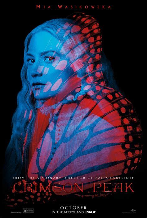 crimson peak dvd release date redbox netflix itunes
