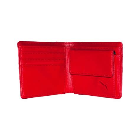 In 2005 scuderia ferrari, the oldest surviving formula 1 team, decided to team up with the sports brand with the longest heritage in motorsport. Puma Ferrari Wallet, Red - Swish Wallets