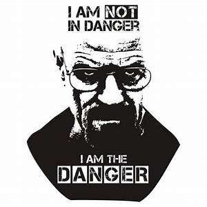 Breaking Bad - Heisenberg - I am the danger! T-shirt ...