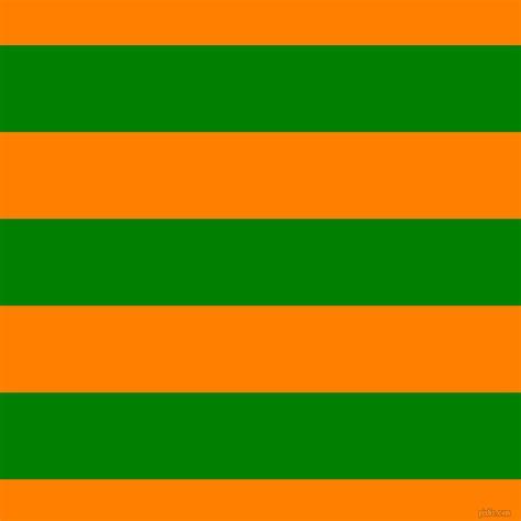 Green And Dark Orange Horizontal Lines And Stripes