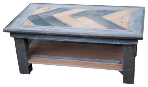 rustic gray coffee table herringbone coffee table natural grey rustic coffee