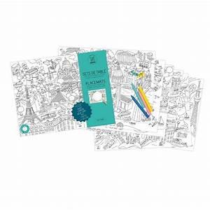 Sets De Table Originaux : sets de table colorier ~ Voncanada.com Idées de Décoration