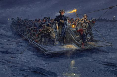 Washington Crossing The Delaware More Accurate Version Of Famous Painting Debuted Huffpost