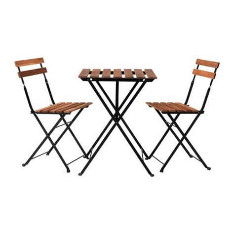 chaises exterieur tärnö table 2 chaises extérieur ikea