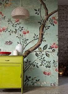 les 25 meilleures idees de la categorie papier peint With chambre bébé design avec parfum fleuri