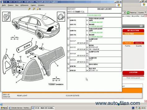citroen sbox parts  repair  spare parts catalog