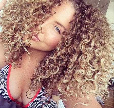 blonde curly hairstyles blonde hairstyles