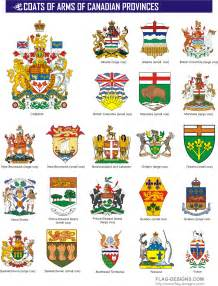 Canadian Provinces Coat of Arms