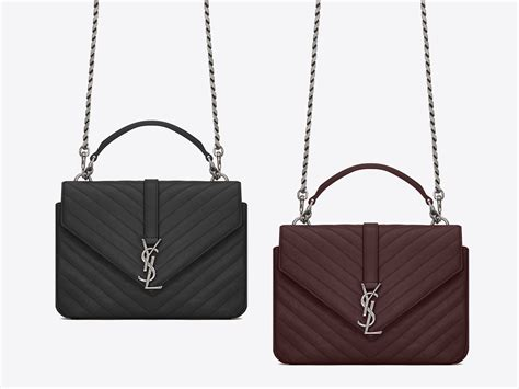 saint laurent classic medium college monogram bag