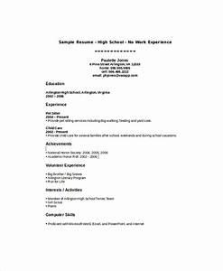Sample High School Student Resume 8 Examples in Word PDF