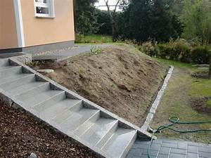 Böschung Bepflanzen Fotos : hangbegrenzung vorgarten w rsty seine haus seite ~ Orissabook.com Haus und Dekorationen