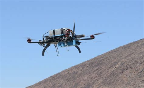 army cyber command tests cots modified quadcopter uas vision