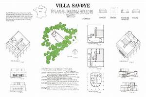Drawing For The Building Arts  Villa Savoye On Scad Portfolios