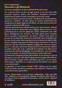 Libri Su Illuminati Mussolini E Gli Illuminati Libro Di Enrico Montermini