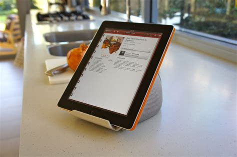 support tablette cuisine iprop des supports universels pour tablettes tactiles