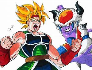 Bardock Vs Chilled by MikeES on DeviantArt