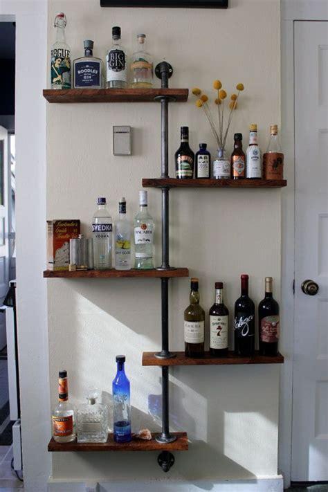 Bar Shelves by Best 25 Liquor Shelves Ideas On Bar Cabinet