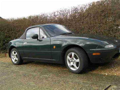 car maintenance manuals 1997 mazda mx 5 regenerative braking mazda mx5 1997 dark green 1 8 litre manual car for sale