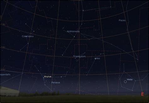 Perseus Constellation Location August