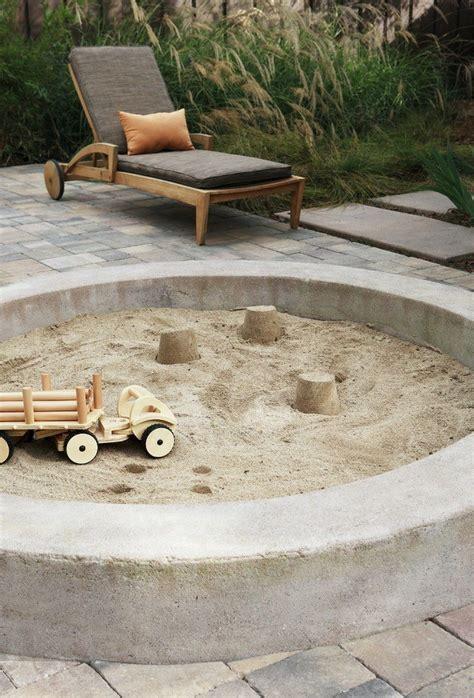 sandkasten selber bauen aus stein sandkasten bauen die leichteste anleitung 25 kreative