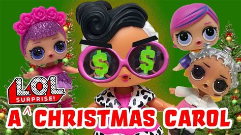 Lol Surprise Dolls A Christmas Carol! Featuring Diva