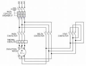 Y Delta Circuit Diagram