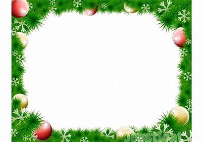 Christmas Border Wreath Vector Clip Holiday Clipart